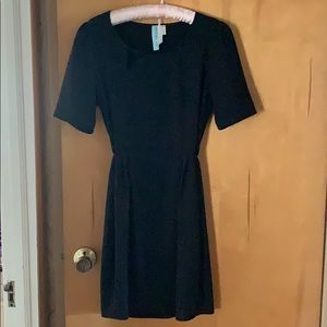Francesca's black dress